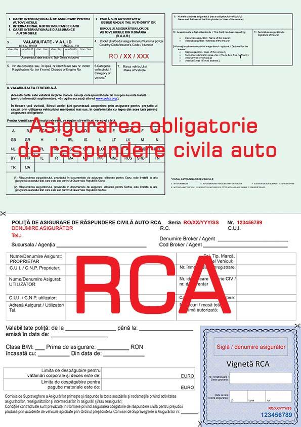 10 informaţii despre asigurarea RCA