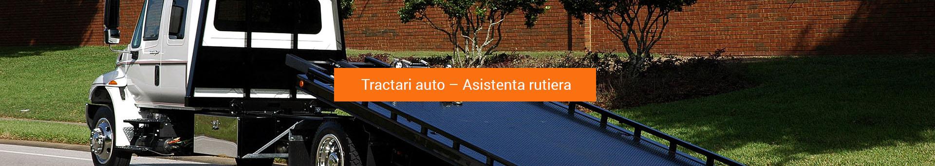 Tractari auto – Asistenta rutiera